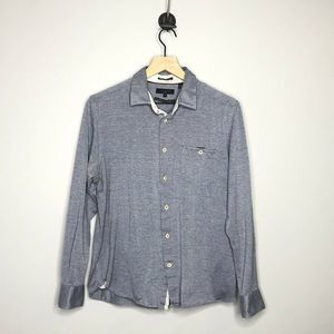 Ted Baker Timothy Slim Fit Jersey Shirt Size 4